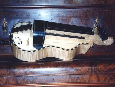 Copy of Colson a Mirecourt Hurdy-Gurdy by Chris Allen and Sabina Kormylo