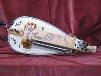 Custom Hurdy Gurdy based on a Colson Luteback