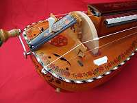 Decorated copy of 1892 Nigout Hurdy-Gurdy